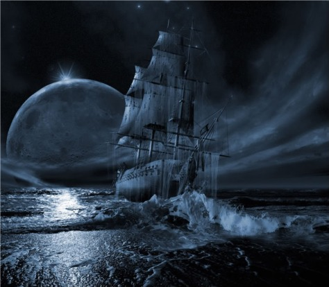 Image result for picture of a ghost ship