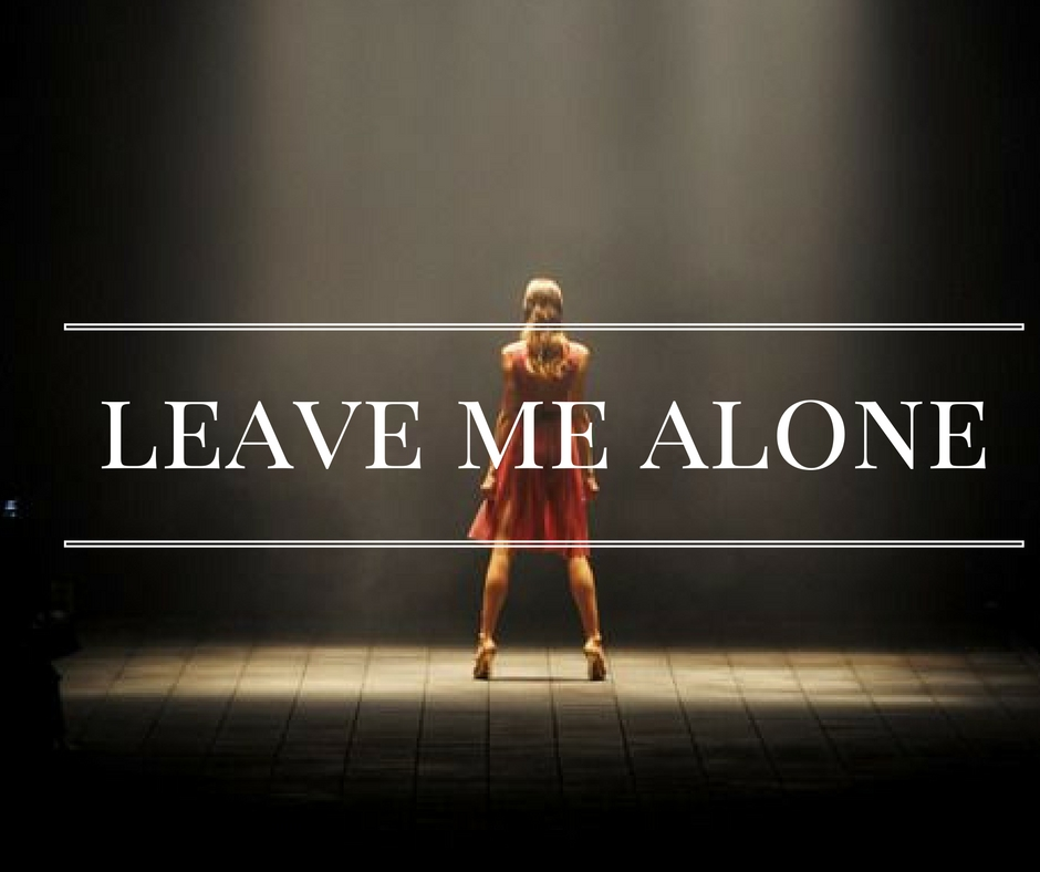how to tell a narcissist to leave you alone