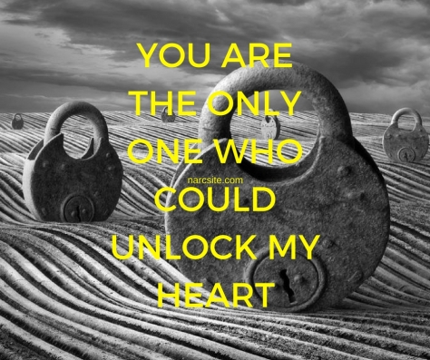YOU ARE THE ONLYONE WHOCOULDUNLOCK MYHEART