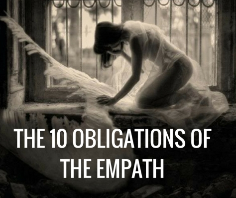 THE 10 OBLIGATIONS OF THE EMPATH